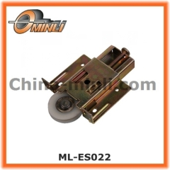Adjustable Pressing iron housing pulley for window and furniture