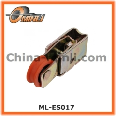 Single Roller with Pressed metal housing Pulley