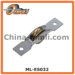 Durable metal pulley wheel for Aluminum window and door