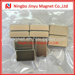 Rectangle Shape N50 Neodymium Magnet With Ni Coated