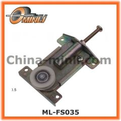Adjustable Zinc housing Pulley with Single wheel for furniture Window and Door