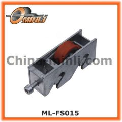 Popular Zinc Bracket Metal Single Roller for Window and Door