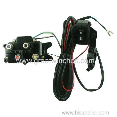 ATV Electric Winch With 4500lb Pulling Capacity (Star Model)