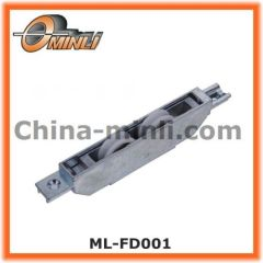 Double window roller with zinc bracket