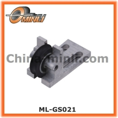 Nylon Covered Aluminum Alloy Bracket Pulley
