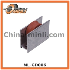Metal Bracket with Two Nylon Coated Pulley