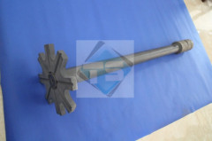Silicon Nitride Degassing Rotor&Shaft