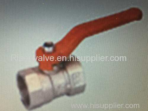 Reduced port Ball Valve