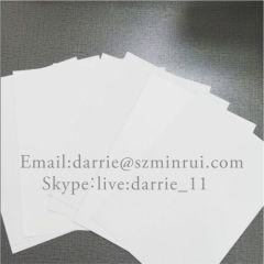 Custom any size and shape Eco-frendly Ultra Destructible self adhesive labels paper for Tamper Evident labels