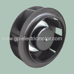 12v 24v 48v dc small industrial ventilation duct centrifugal fan 250 mm A type
