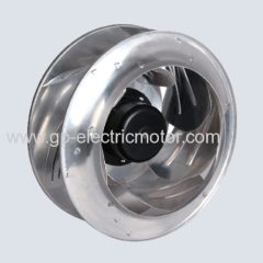 12V 24V 48V small air ventilation centrifugal fan 355mm A type