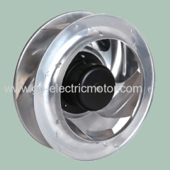 dc air ventilation centrifugal fan 355mm B type