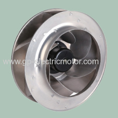 dc industrial air ventilation centrifugal fan 400mm