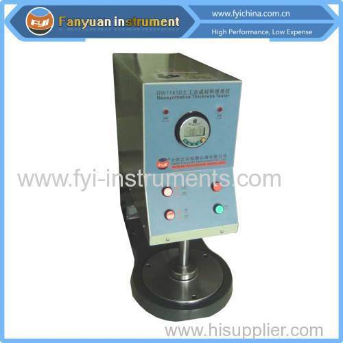 Geosynthetics thickness tester price