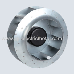 AC DC centrifugal fan backward curved 250mm B type