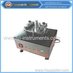 ASTM D4886 Geotextile abrasion resitance tester
