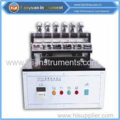 color rubbing fastness tester from China supplier