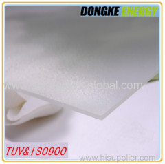 Anti reflective tempered coating glass