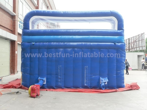 High quality popular inflatable water slide with pool