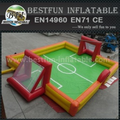Inflatable football playground commercial grade