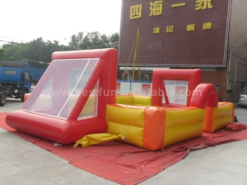 Hot sale portable inflatable soccer field