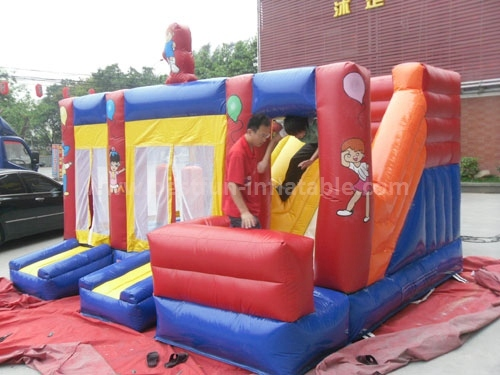 Outdoor Giant Kids Commercial Inflatable Bounce Slide