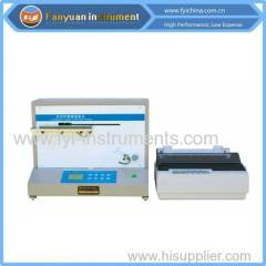 Fully Automatic Fabric Stiffness Tester