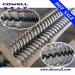 Parallel twin screw barrel