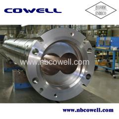 parallel twin barrel screw