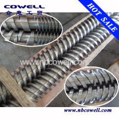 High quality parallel twin screw and barrel for pet plastic processing