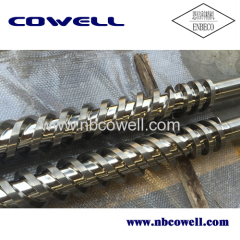 Hot sales parallel twin screw barrel for profile extrusion
