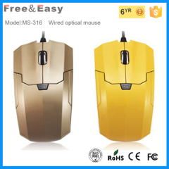 stretcher line usb cable hot sale wired mouse