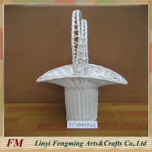 Wicker gift baskets handmade Folk Art