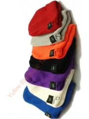 Offer Knitted wireless cap Bluetooth music cap wireless music hat sports music cap wireless Christmas cap