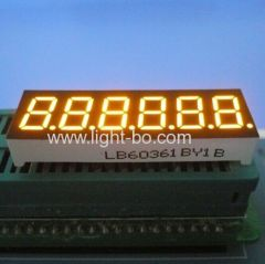6 digit led display;6 digit 0.36 segment led display
