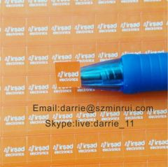 Small Square on the electronics panels Destructible Self-Adhesive crumblin warranty sticker.Tamper Proof seal labels