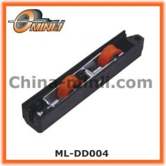 Adjustable double wheel window roller