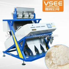 China Best sell optical color sorter machinery for Agriculture products processing