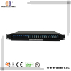 24 port LC duplex Single- mode Sliding Fiber Patch panel