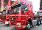 400L Fuel Tankder 10 Wheeler HOWO A7 Prime Mover Truck Sinotruck 336HP