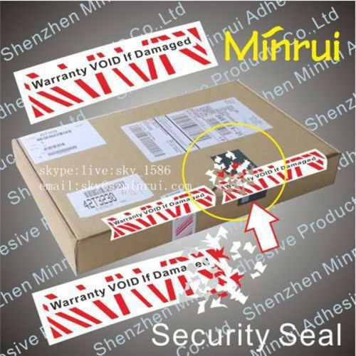 Sealing Stickers Custom Security