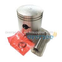 Oversee Piston Set +025 12100-93120-025 Case For Suzuki 9.9HP 15hp DT9.9 DT15 Outboard Engine