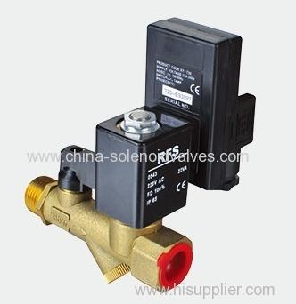 Union type automatic drain valve