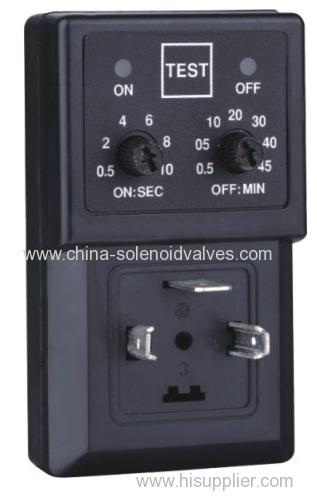 timer for drain solenoid valve