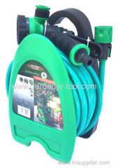 10M Garden Hose Pipe Reel With Nozzle