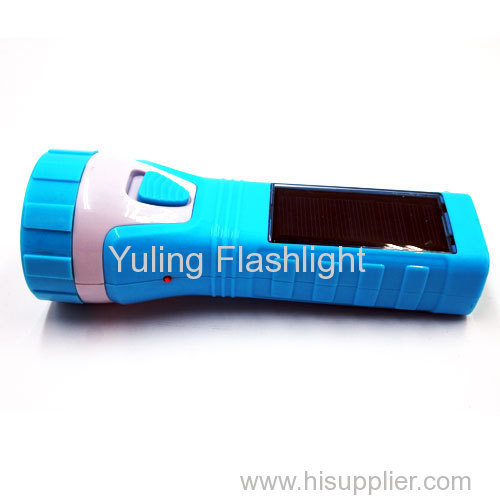 1W Solar Outdoor Handle Flashlight