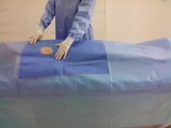 Nonwoven Cardiovascular surgical drape