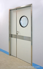 Manual Swing Door One And Half Open (1-1/2 leaf)