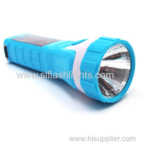 Plastic Solar LED Handle Torch China