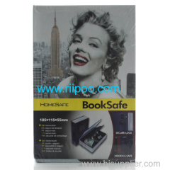 Riipoo Marilyn Monroe L Size Colours Dictionary Diversion Hidden Book Safe With Strong Metal Case inside and Key Lock